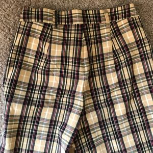 Forever 21 Pants - F21 high waisted plaid pants